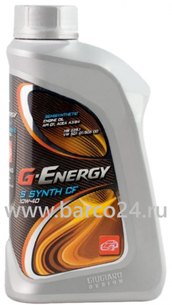 фото G-Energy S Synth CF 10W-40 , картинка G-Energy S Synth CF 10W-40