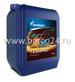 фото Gazpromneft Turbo Universal 15W-40 API CD , картинка Gazpromneft Turbo Universal 15W-40 API CD