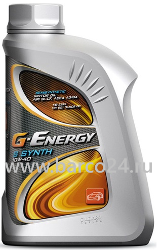 фото G-Energy S Synth 10W-40 , картинка G-Energy S Synth 10W-40